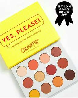 READYSTOCK YES PLEASE PALETTE
