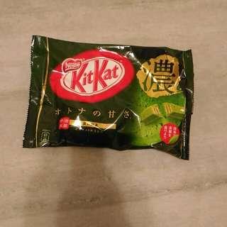 Kit-Kat抹茶巧克力餅乾