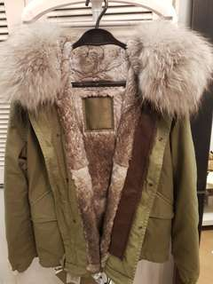 WINTER COAT BRAND NEW Mr & Mrs Italy 2017 season