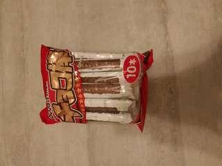日本巧克力棒餅乾