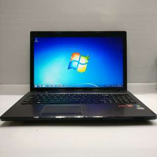 [AMD A6 4GB] Lenovo ideaPad Z575 A6-3400M 4GB Ram 400GB HDD (With Charger/USB mouse/Case)