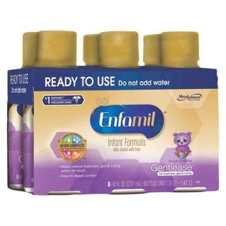 Enfamil gentle ease ready to use