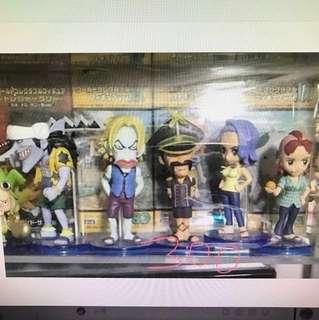 Wcf op 海賊王 one piece figure 公仔 日版 TV. 12 一套
