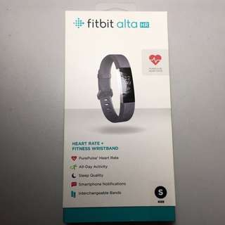 Fitbit Alta HR Small Gray