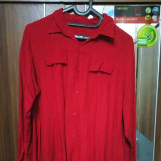 Kemeja dress Tunik