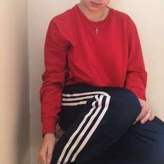 Red Ralph Lauren Long Sleeve