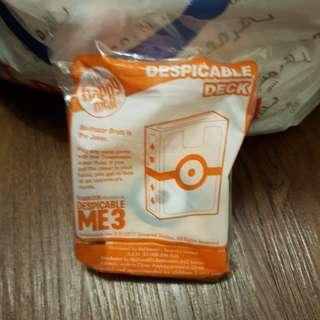 Despicable Me McDonald's Happy Meal Minion - Despicable Deck