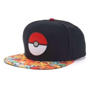 NWT Men's Pokemon snacpback cap