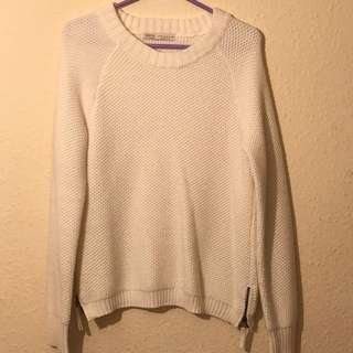 Cream Bershka Knitwear
