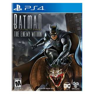 (Brand New Sealed) PS4 Game Batman The Enemy Within.
