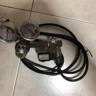 Electric solenoid regulator
