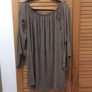 Cotton On Off-Shoulder Mini Dress