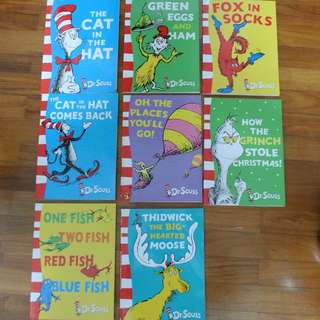 Dr. Seuss Cat in the hat series story books