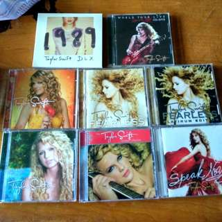Taylor Swift Official Albums and EPs