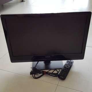 2512 Philips 19 Inch Ultra Slim LED TV (19PFL4008/98)