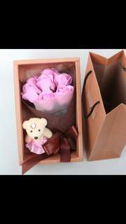 <$13.50> Soap roses bouquet