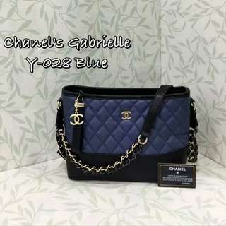 Chanel Gabrielle Blue Color