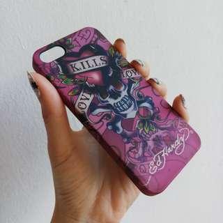 pink skull iphone 5s hardcase