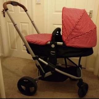Mothercare Xpedior stroller & Car Seat