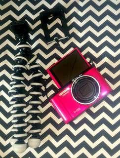 Kamera Vlog Casio Exilim ZR1500