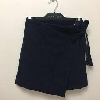 🆕 Navy bow tie skirt - free size