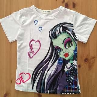 Monster High atasan putih