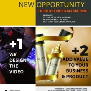 Commercial, Corporate and Brand video service