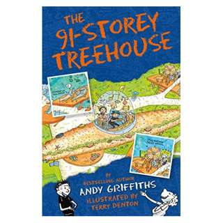 The 91-Storey Treehouse (The Treehouse Books Book 7) BY Andy Griffiths  (Author), Terry Denton (Illustrator)