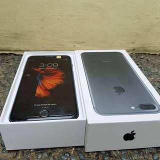 Iphone 7+ matte black 256GB