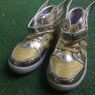 LED blinking sole kids shoe