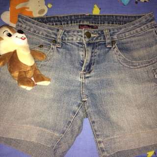Authentic Lee Pipes Denim Shorts