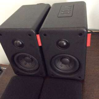 Nuforce S3-BT powered bluetooth speakers