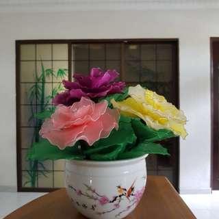 100% DIY Handmade Flower Pot (for decor/gift)