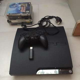 PS3 plus all games and controller