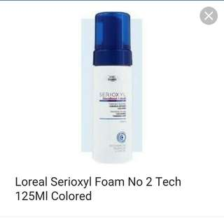 L'Oreal serioxyl Densifying Mousse 125ml step 3