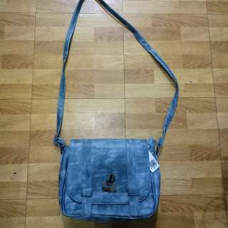 Denim Sling Bag(Parisian)