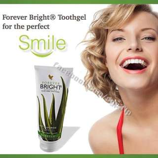 No Fluoride ToothPaste : Forever Bright® ToothGel