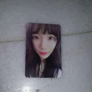 [INC POS EXPRESS] SNSD TAEYEON THIS CHRISTMAS ALBUM PHOTOCARD ONLY