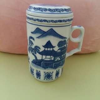 Vintage china tea mug
