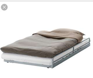 Ikea pull out bed frame.