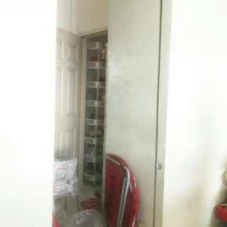 Tall Cabinet With Mirror Door