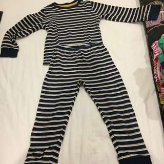 Age 4 Tu stripy pyjamas boys