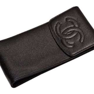 Chanel vintage 斜孭袋 手機袋 化妝袋