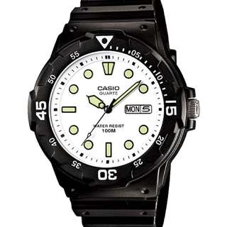 全新Casio 手錶,一年保養