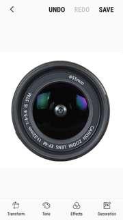 Canon EF-M 11-22mm IS STM Lens