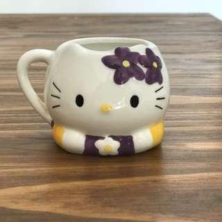 小津hello kitty cafe 紀念杯