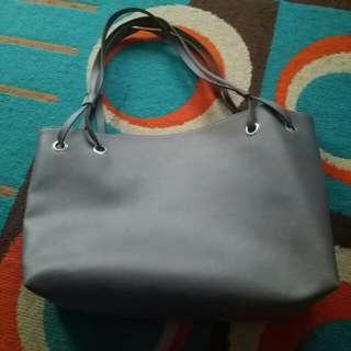 Grey bag - Tas Abu abu