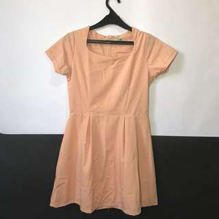 For sale! Pink nude dress only 50.000!