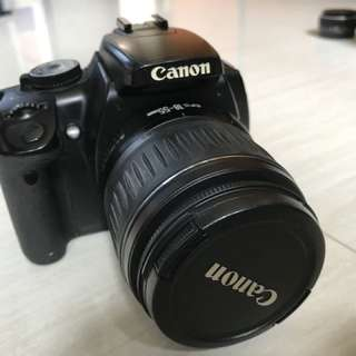 Canon 400D with 18-55mm f3.5-5.6 ii kit lens