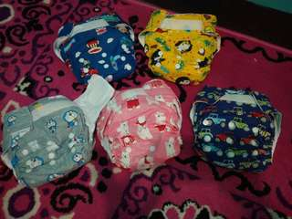 Clodi (cloth diaper) pempers cuci ulang